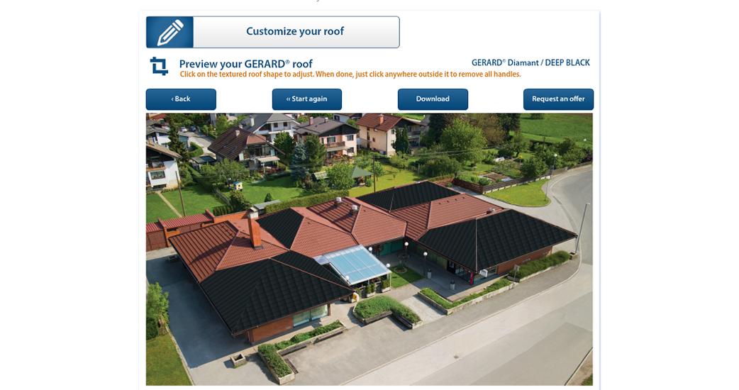 Zobacz jak będzie wyglądał twój dom z dachem GERARD!