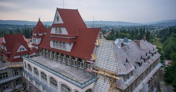 Heritage Spanish red, Polska, Szpital Zakopane