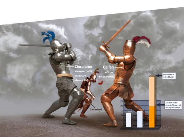 Aluminiowo-cynkowy versus cynkowo-aluminiowy versus ocynkowane