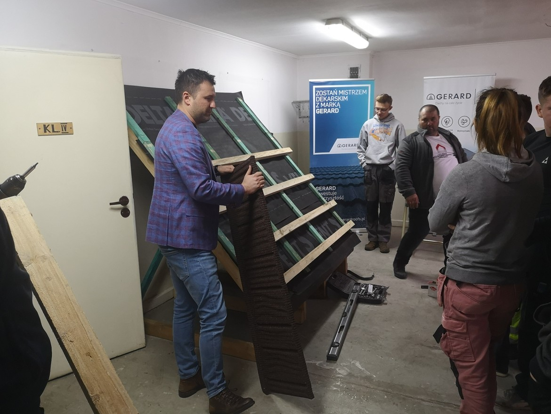 Szkolenie dla uczniów szkoły budowlanej w Zakopanem