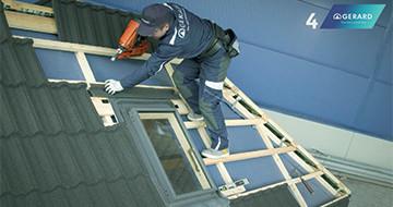 GERARD® Roofs - Obróbka okna