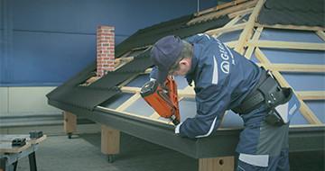 GERARD® Roofs - Narożnik obróbki nadrynnowej